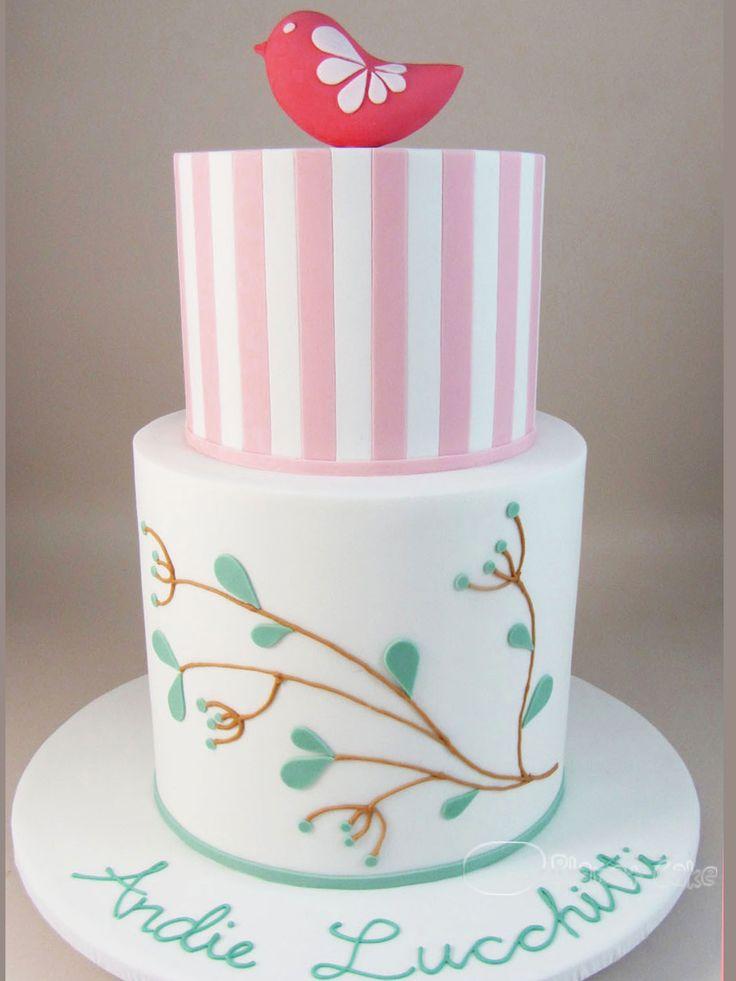 Cute Birdy cake