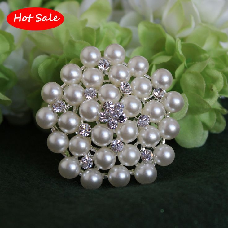 Classic!!Crystal Rhinestone And Imitation Pearl Brooch Silver plated Snowflake Style Brooches For Wedding Christmas Gift pins