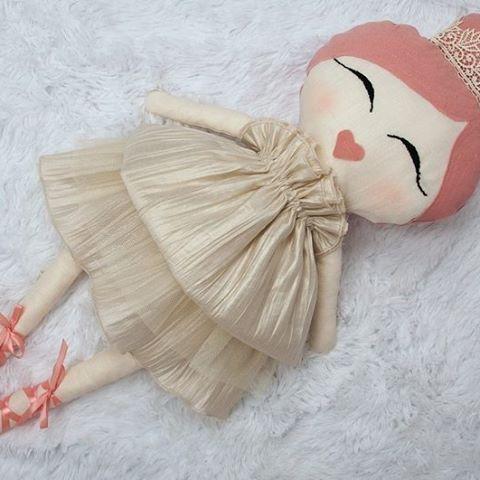 PRINCESS LEAH. Wielkosc ok 70 cm.  #handmade #dolls #zabawki #kidsroom…