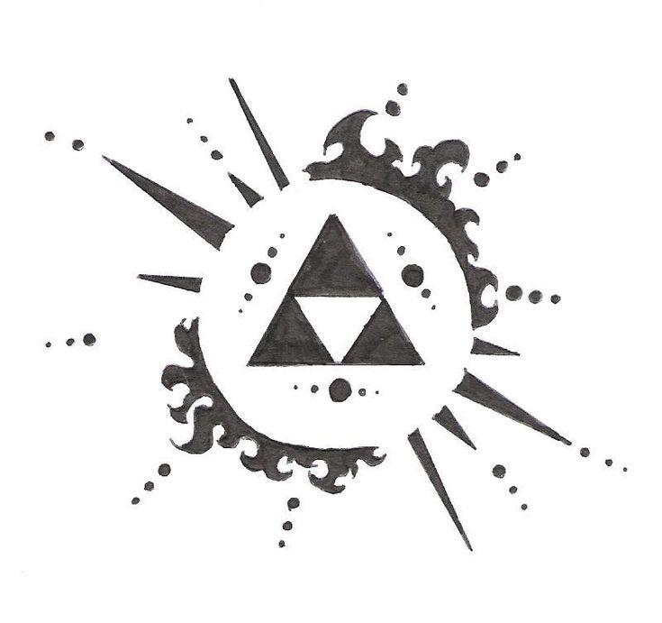 Zelda Triforce Tattoo | Zelda symbol by ~electrichead11 on deviantART