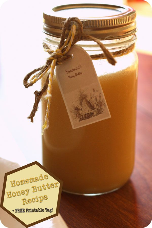 Homemade Honey Butter Recipe