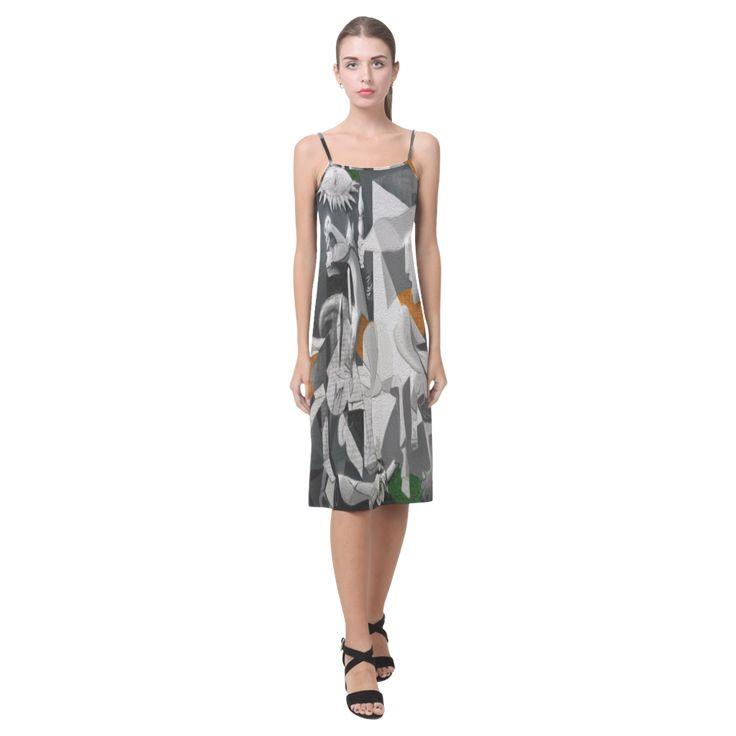 My Picasso Seri:Guernica Alcestis Slip Dress (Model D05)