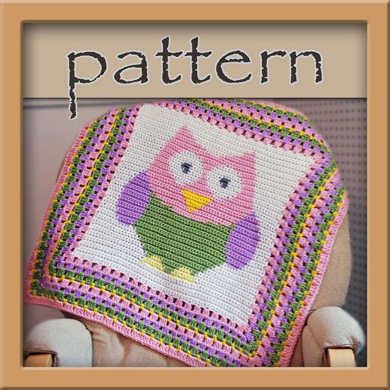 Free Crochet Pattern For Owl Afghan : Meer dan 1000 idee?n over Owl Afghan op Pinterest ...