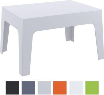 Design Garten Lounge Tisch / Sonnenliegen Beistelltisch BOX, 70 X 50 Cm,