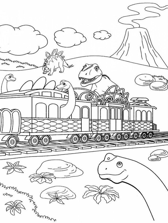 Dinosaur Train Coloring Pages Best Coloring Pages For Kids Train Coloring Pages Dinosaur Coloring Pages Free Coloring Pages