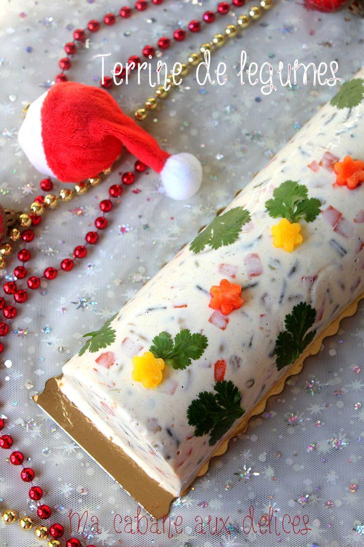 Les 40 meilleures images du tableau recette de noel sur pinterest recette de noel meringue - Terrine de legumes facile et rapide ...
