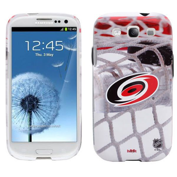 Carolina Hurricanes Puck in Net Samsung Galaxy S3 Case - $14.99