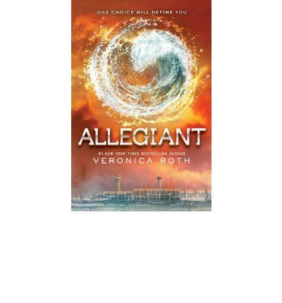 6/10 Allegiant - Veronica Roth