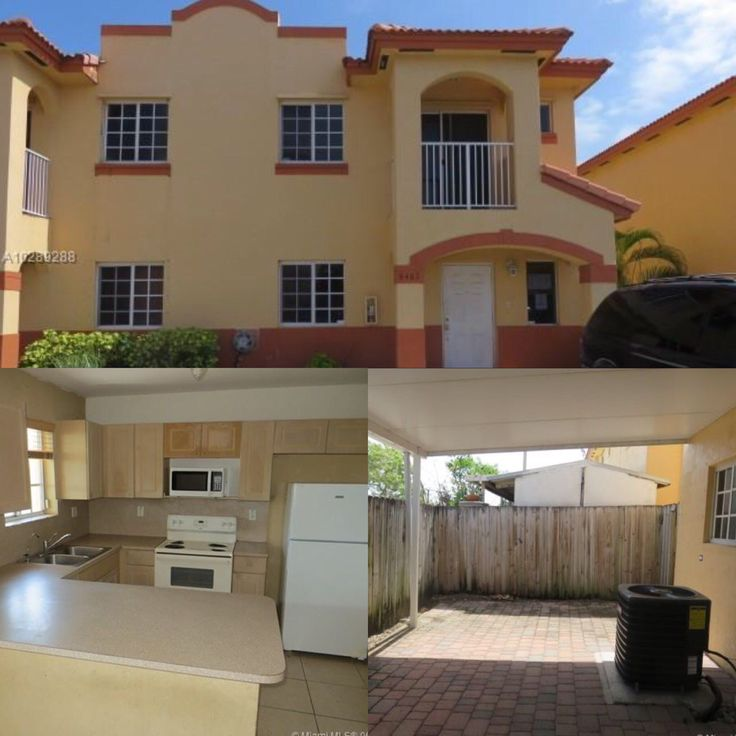 "Hialeah Garden Townhouse for sale! $210,000 — Hialeah Gardens! Beautiful two-story townhouse built in ""2005"", features a spacious living room, dining room, modern kitchen w/counter, refrigerator, stove, microwave, dishwasher, garbage disposal, 3 bedrooms, 2 baths with 1 bedroom and 1 full bath located on the 1st floor, utility closet with washer"