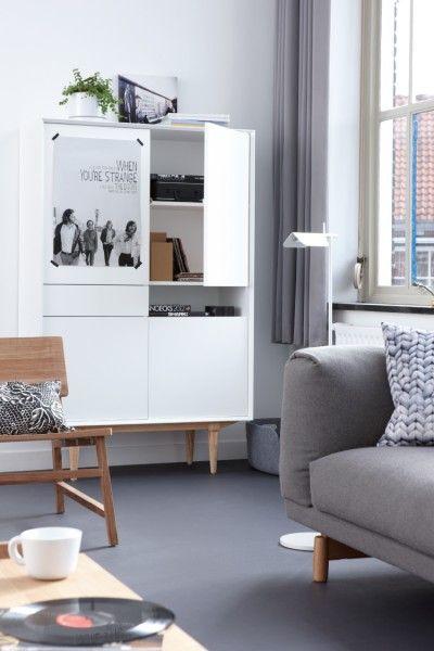 ruijch dutch design | mooie witte retro kast | dutch design | ZOOK.nl