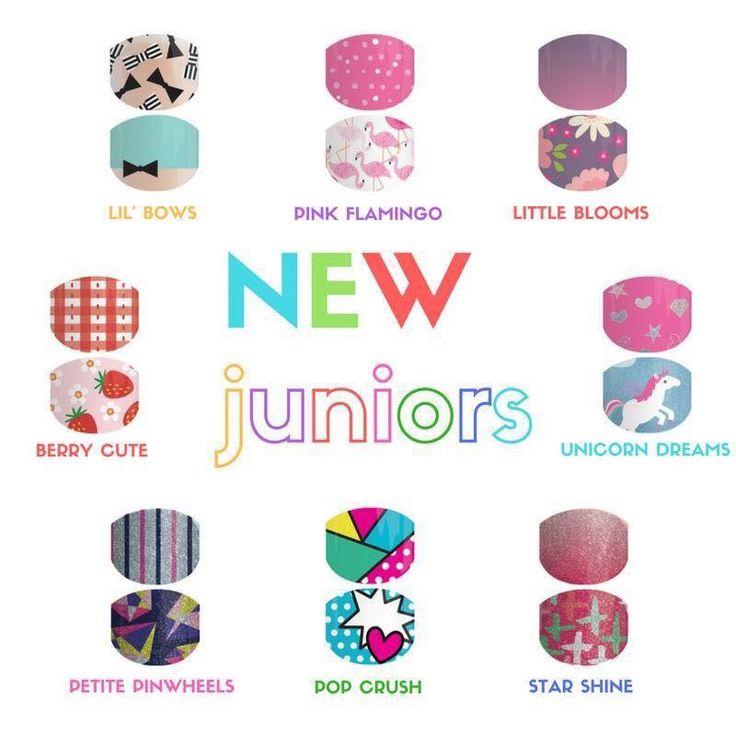 New catalogue wraps - Juniors