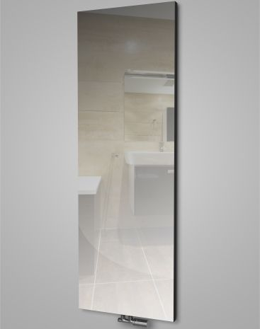 A mirror and heator in a single HOTHOT radiator. It saves space, and is a luxurious accessory for modern interiors. Thanks to this unique combination, this radiator is suitable for the bedroom, bathroom, or entrance hall.