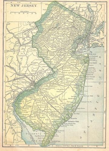 Best NJ Maps Images On Pinterest New Jersey Jersey Girl And - New jersey on us map