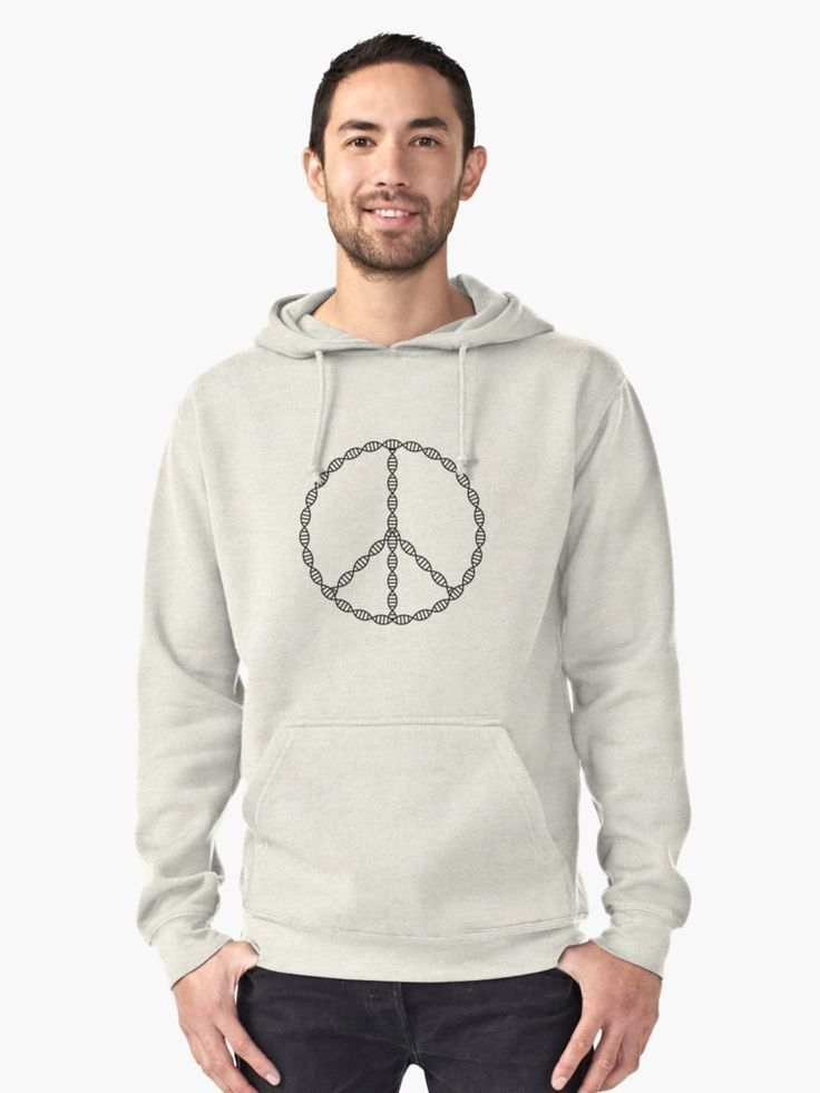 DNA peace sign // hoodies // http://ift.tt/2liWwdD