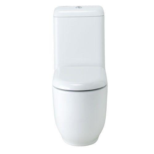 Free form toilet
