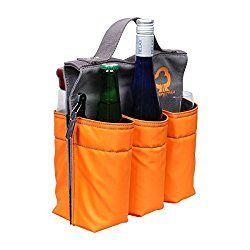 Praktische #Fahrradtasche für die Marschverpflegung beim Fahrrad fahren. 6 Flaschen Bier passen hinein, was für die ersten Kilometer reichen sollte, da macht Mann gerne eine Pause :-)