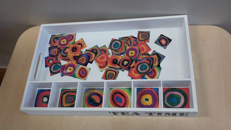 sorteren met kunst: Kadinsky ...