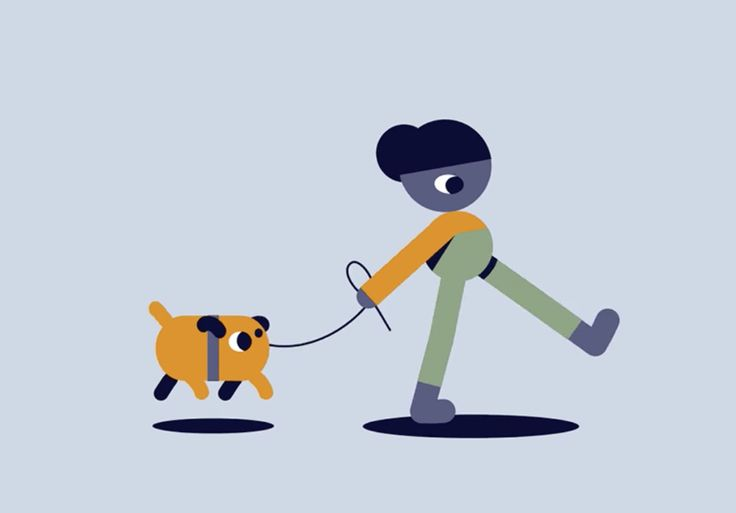 Animade: Walkies! A bit of downtime fun, by our @bumbialex.