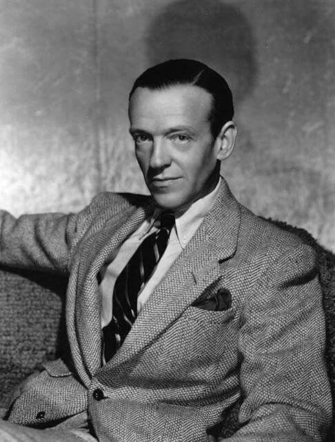 Fred Astaire, great talented dancer. So Multi-talented!