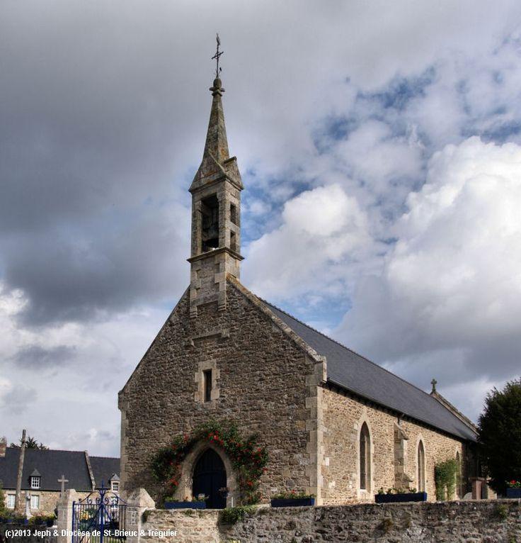 Église St-Pierre, à Plessix-Balisson.