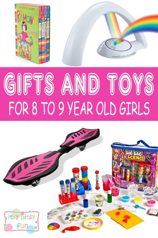 Best Gifts For 8 Year Old Girls. Lots of Ideas for 8th Birthday, Christmas and 8 to 9 Year Olds