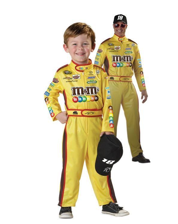 Детский костюм гонщика Кайла Буша