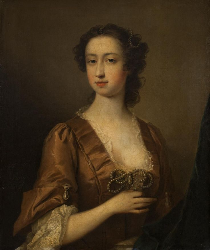 1738-1742 Unknown British artist - Lady Carlingford