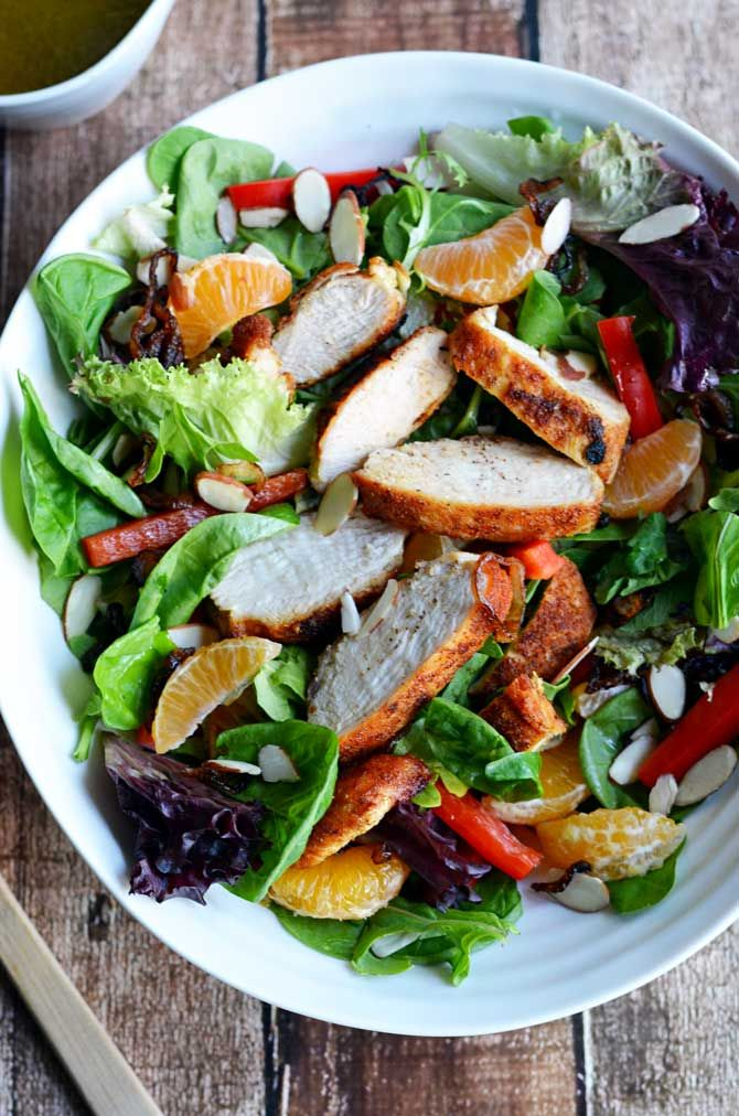 salad citrus mint salad citrus salad with honey bitters dressing ...