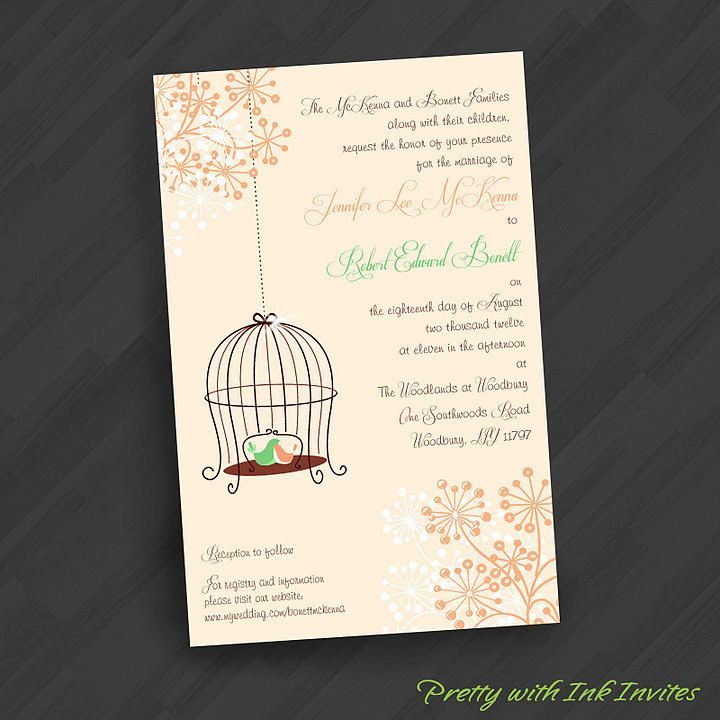 95 best Wedding Invitations images on Pinterest | Dream wedding ...