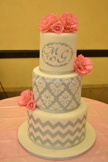 Tortas de matrimonio en Lima. Torta temática para boda de Dul & Pas | Foto 6