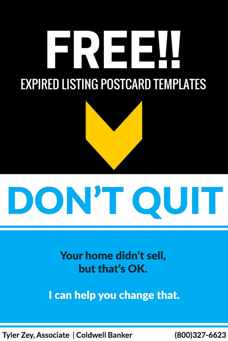 40 best Expired Listing Postcards images on Pinterest | Real ...