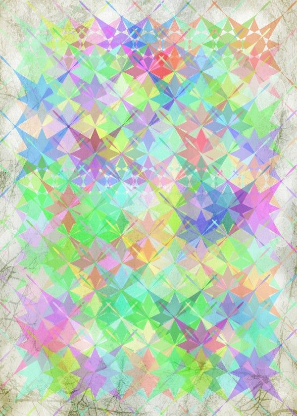 """""""Color Joy"""" metal poster by Art Skratches #pattern"""