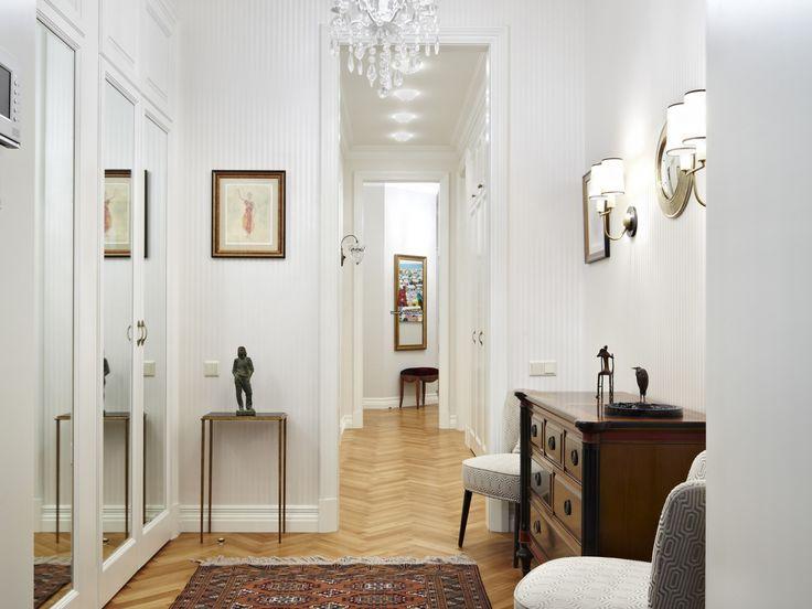 Интерьер квартиры в старомосковском стиле