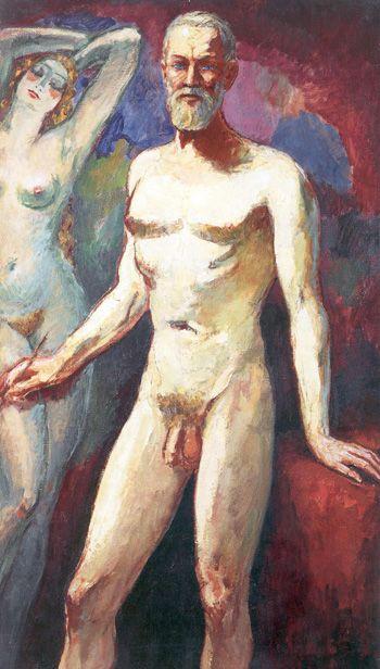 Autoportrait 1935 Kees van Dongen . Cornelis Theodorus Maria van Dongen (1877 –1968). Movement :Fauvism