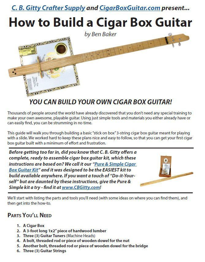 Unfortunately we do not have any bass guitar plans as of yet. Description from cigarboxguitar  sc 1 st  Pinterest & Best 25+ Cigar box guitar plans ideas on Pinterest | Cigar box ... Aboutintivar.Com