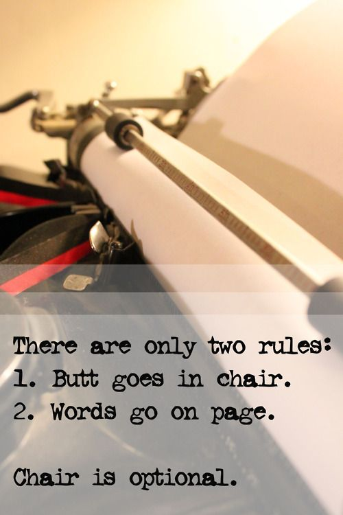 Writing advice should always boil down to this…