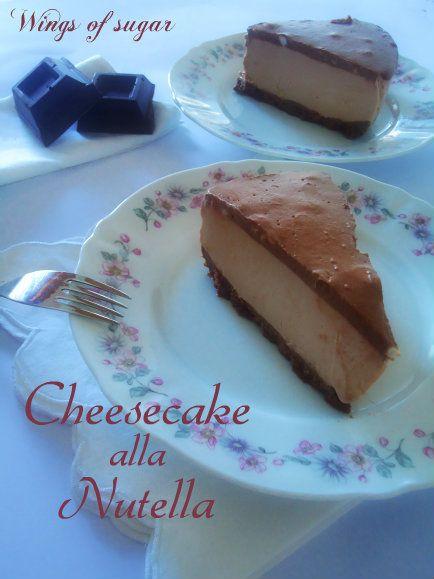 Cheesecake alla nutella ricetta senza cottura