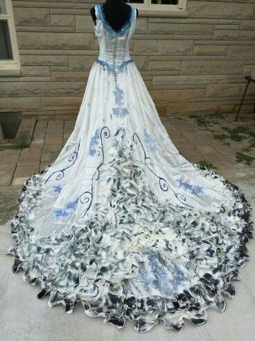 Dress on facebook Corpse Bride Tim Burton