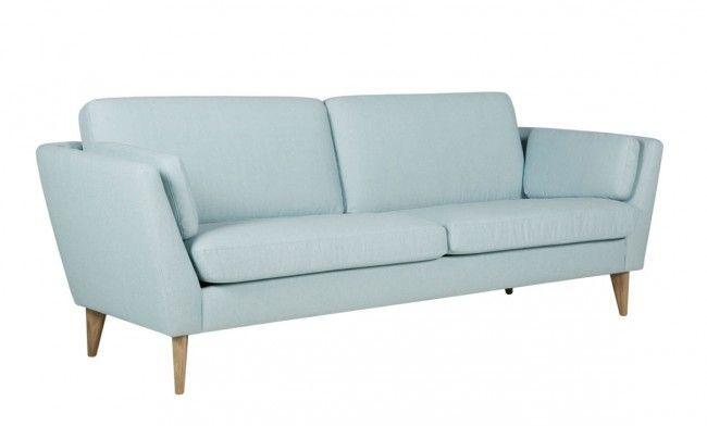 Mynta 3-sits Lila turquoise