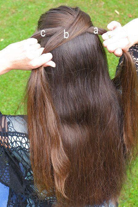 Franzosischer Zopf Anleitung Franzosischer Zopf Selber Flechten Bauernzopf F Beautiful Long Hair Cool Hair Color Long Hair Styles