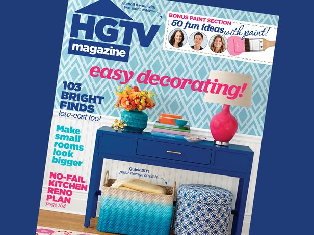 HGTV Magazine turns 30 with the May 2015 issue! See what's inside #hgtvmagazine http://blog.hgtv.com/design/2015/04/06/celebrate-a-milestone-with-hgtv-magazines-may-issue/?soc=pinterest