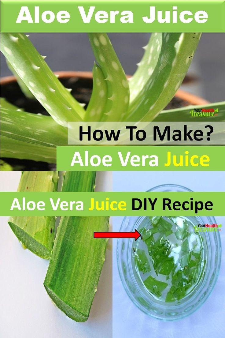 Aloe vera juice recipe how to make aloe vera juice at