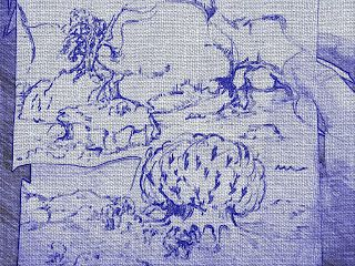 Artisticwife: Ink Drawing, with Paper Artist Filter...