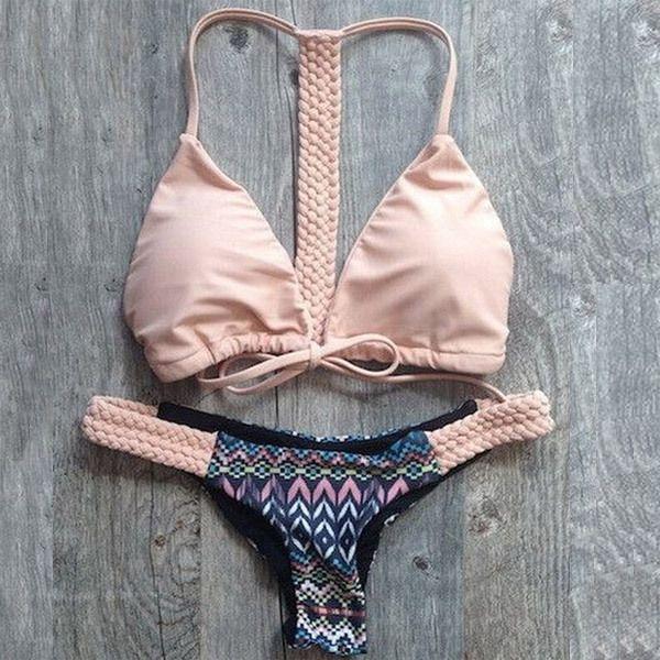 Cheap bikini, Buy Quality swimwear for muslim women directly from China bikinis for large breasted women Suppliers:    Hot Swimwear Bandage Bikini 2015 Sexy Beach Swimwear Women Swimsuit Bathing Suit Brazilian Bikini Set maillot de bain