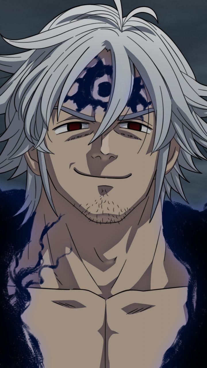 720x1280 Smirk Estarossa Mael Nanatsu No Taizai Anime Wallpaper Estarossa Nanatsu No Taizai Estarossa Seven Deadly Sins Anime