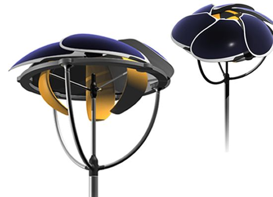 Eco Gadgets: FLOW:  1st dual consumer solar/wind power generator by Wang Yigang 2008-09