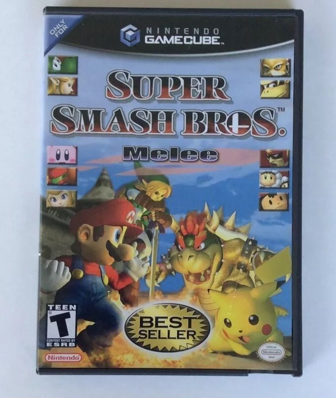 Super Smash Bros. Melee Nintendo Gamecube Mario Pokemon Yoshi Zelda Kirby DK | Video Games & Consoles, Video Games | eBay!