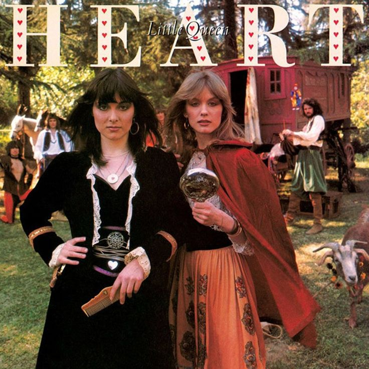 Heart Little Queen on Limited Edition 180g LP from Friday Music Mastered by Joe Reagoso and Kevin Gray at AcousTech/RTI Ann and Nancy Wilson have been continually hammering out some of the greatest ro