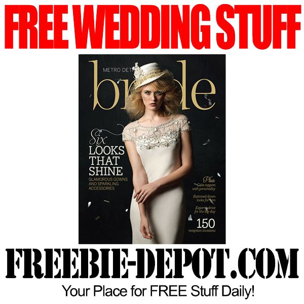 Free Wedding Stuff Bride Magazine