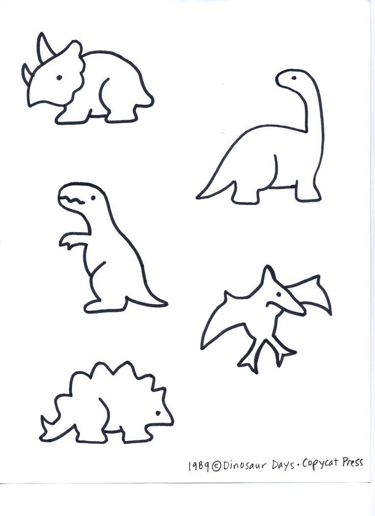 25  best ideas about dinosaur template on pinterest